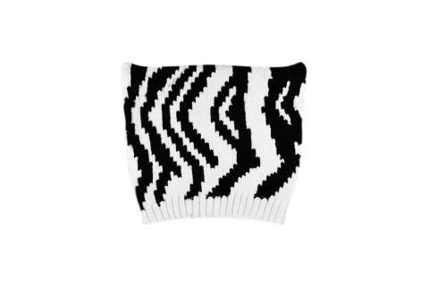 """Шапка с ушками """"Zebra"""""""